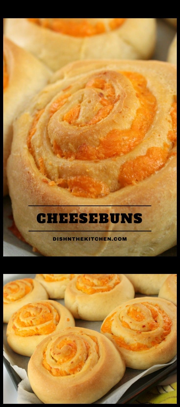 A tried and true recipe for the softest, cheesiest buns EVER. Try them as a side with a bowl of soup or tuck into school lunches for a cheesy treat. #baking #cheesebuns #buns #lunches