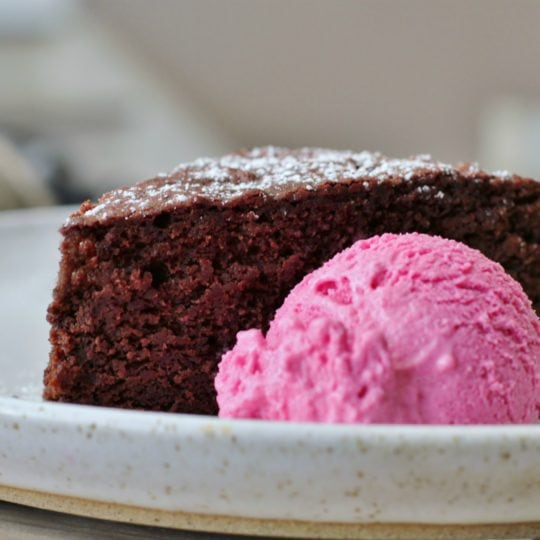 Beets can be made into cake or ice cream