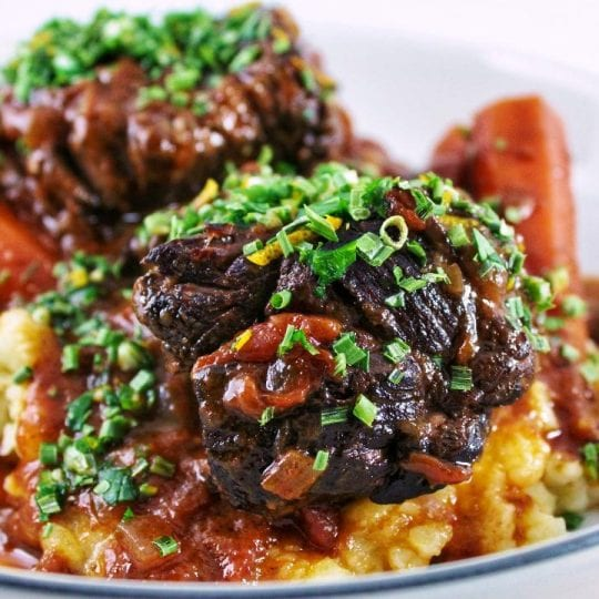 Look no further, this is THE BEST short ribs recipe you will ever try. Made with a few quality ingredients, low and slow is the way to go!#braising #braisedbeefribs #beefshortribs #dinner