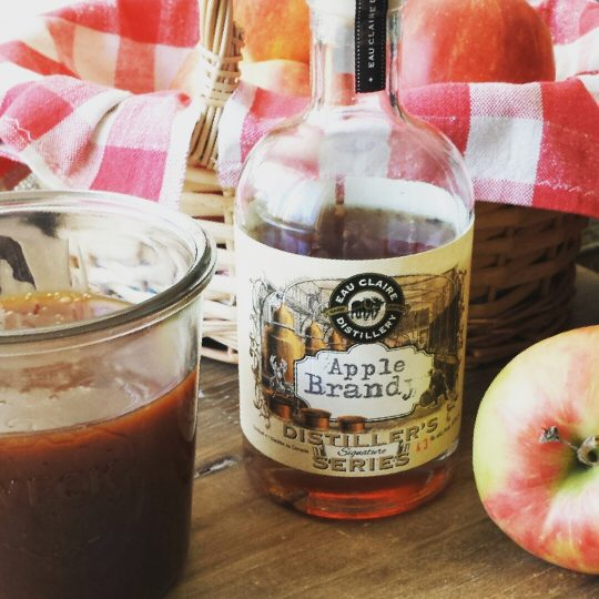 An easy to make decadent caramel sauce that you will want to pour over everything. Spike it with a spirit for that extra little kick of flavour. #caramelsauce #caramel