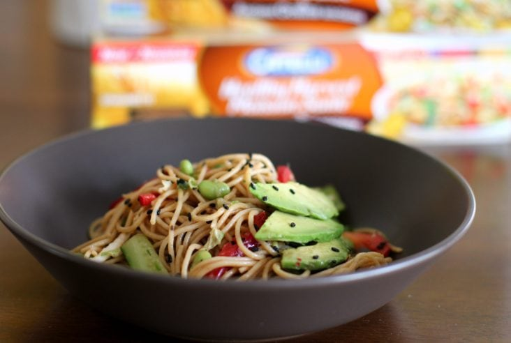 Chilled Soba Noodle Salad