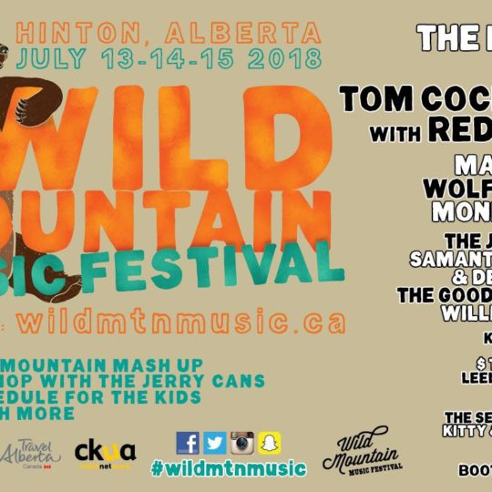 Summer Music Festival in the Heart of the Canadian Rocky Mountains #WildMtnMusicFestival #Music #musicfestival #AlbertaMusic
