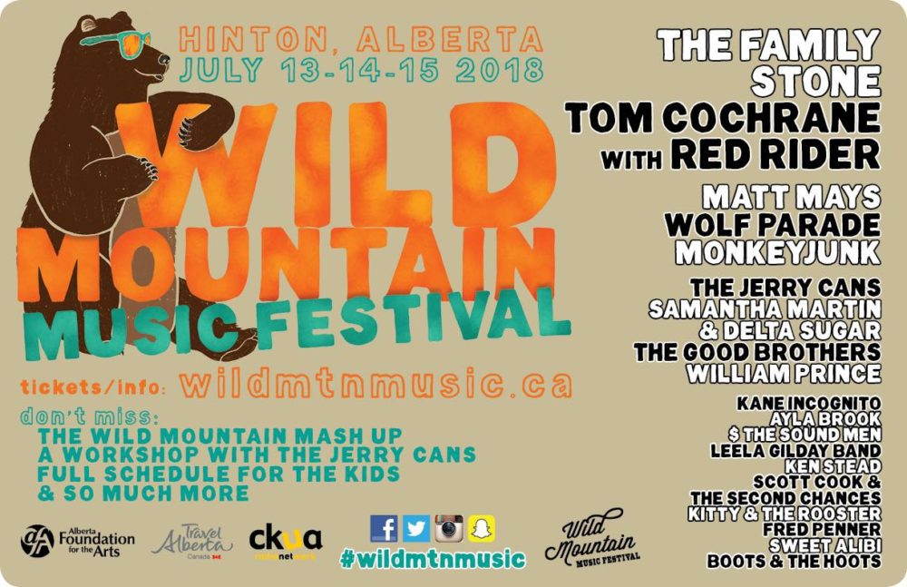 Alberta Events - Dish 'n' the Kitchen Wild Mountain Music Festival Summer Music Festival in the Heart of the Canadian Rocky Mountains #WildMtnMusicFestival #Music #musicfestival #AlbertaMusic