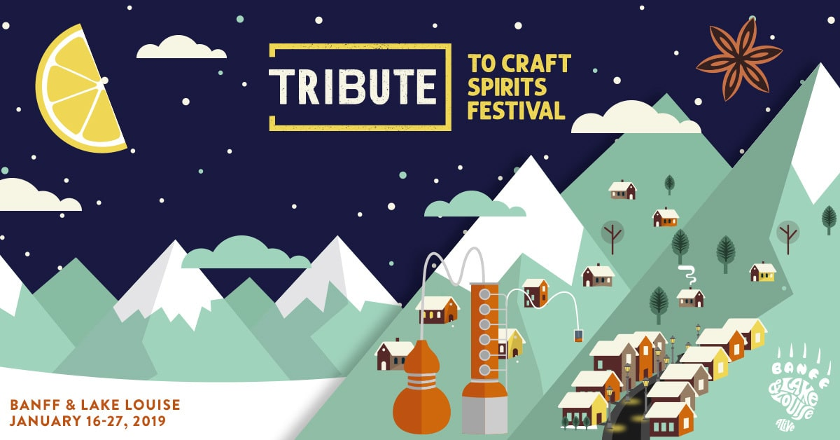 Alberta Events - Dish 'n' the Kitchen Tribute Craft Spirits Festival A 12 Day Cocktail festival in the heart of the Canadian Rockies featuring craft spirits from Alberta and British Columbia. #cocktails #TravelAlberta #TravelCanada #CanadianRockies