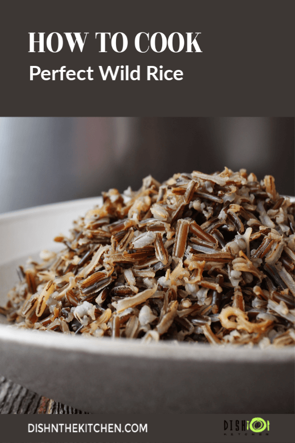 Learn how to cook the best wild rice right on your stove. Serve as a side dish or add to salads or soups.