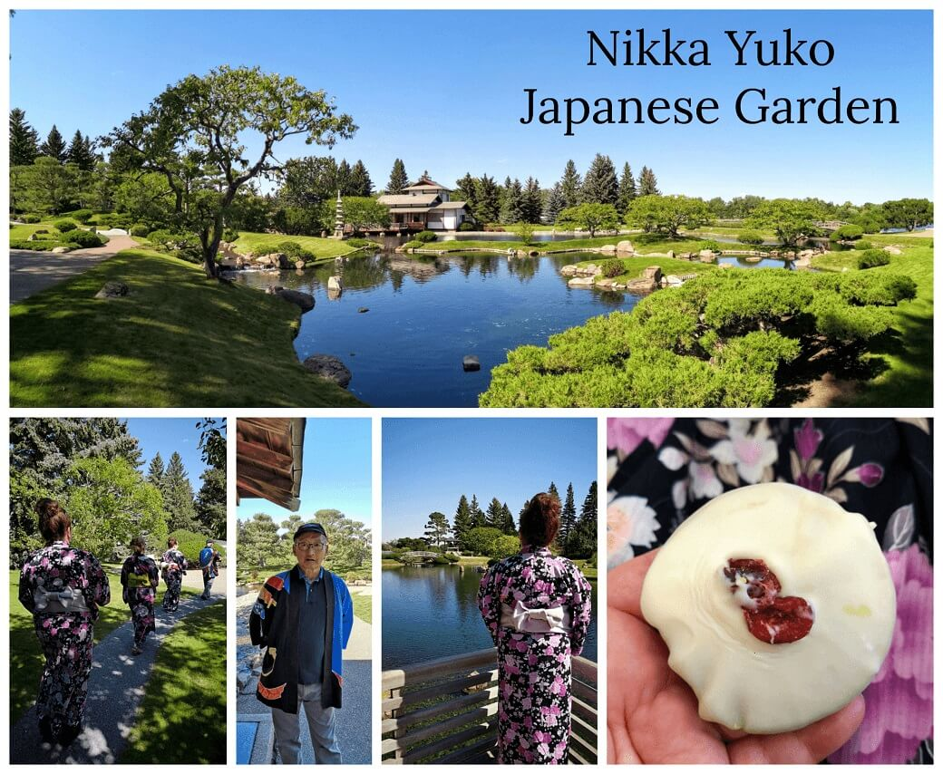 Beautiful scenery vistas from Nikka Yuko Japanese Gardens.
