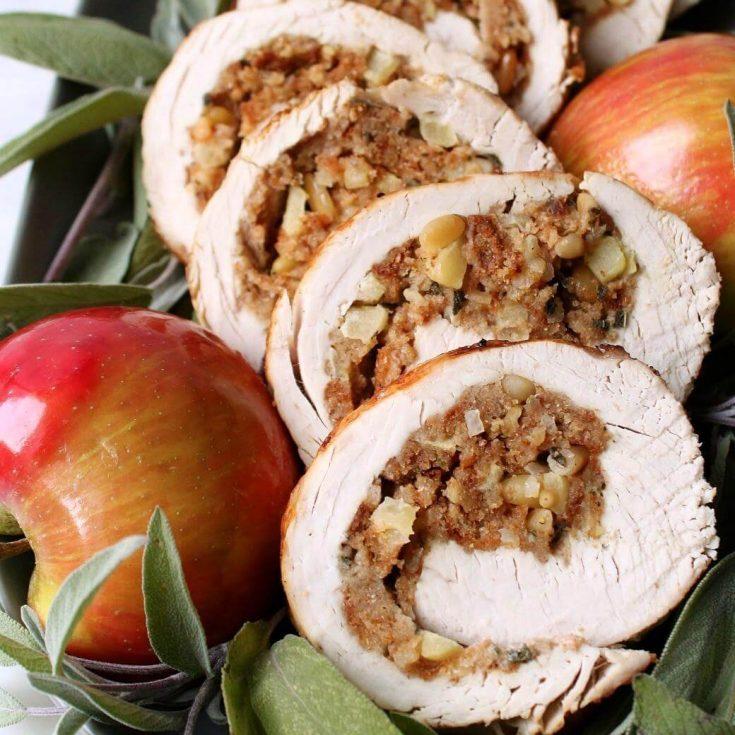 Apple Herb Stuffed Turkey Breast Recipe