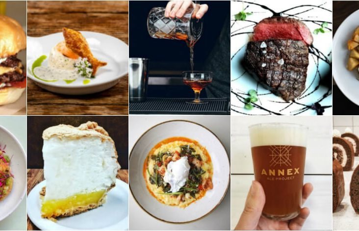 Where to Eat in Calgary - a collage of food photos.