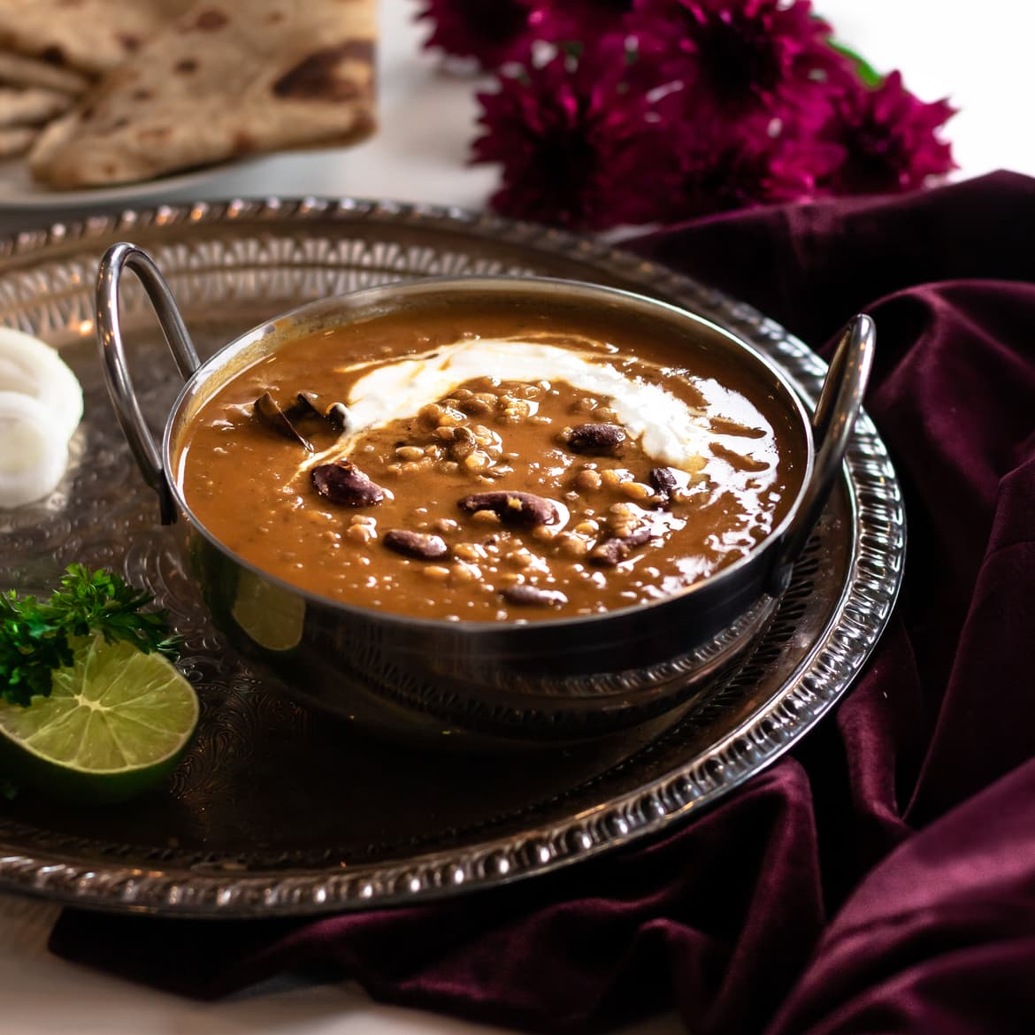 Daal Makhani | Coconut Lentil Curry | High Protein, Vegan, Gluten Free