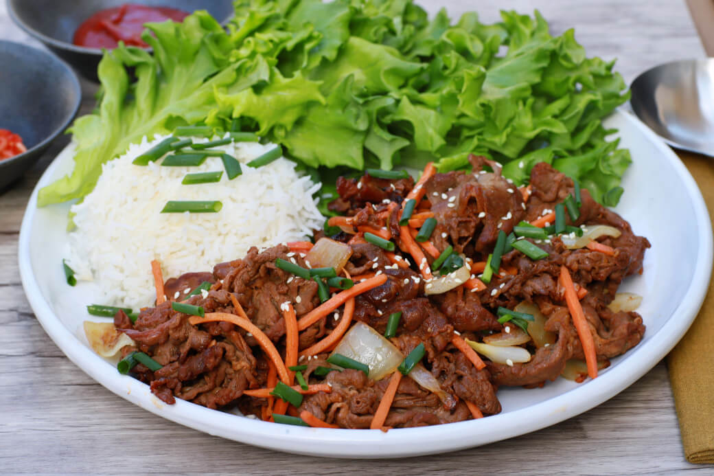 Incredibly Delicious Easy Beef Bulgogi Dish N The Kitchen