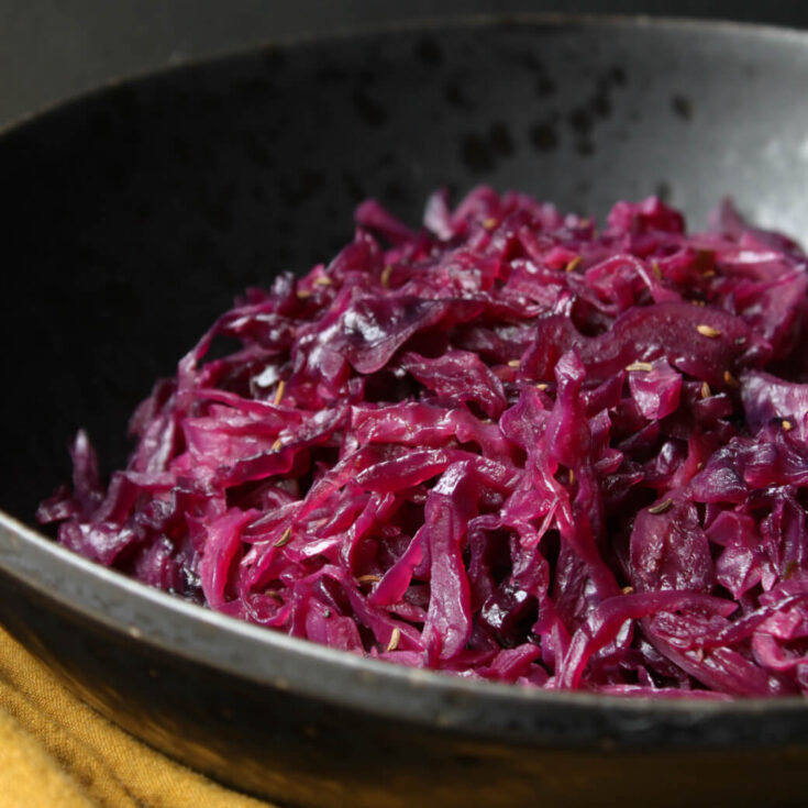Braised German Red Cabbage Rotkohl Dish N The Kitchen