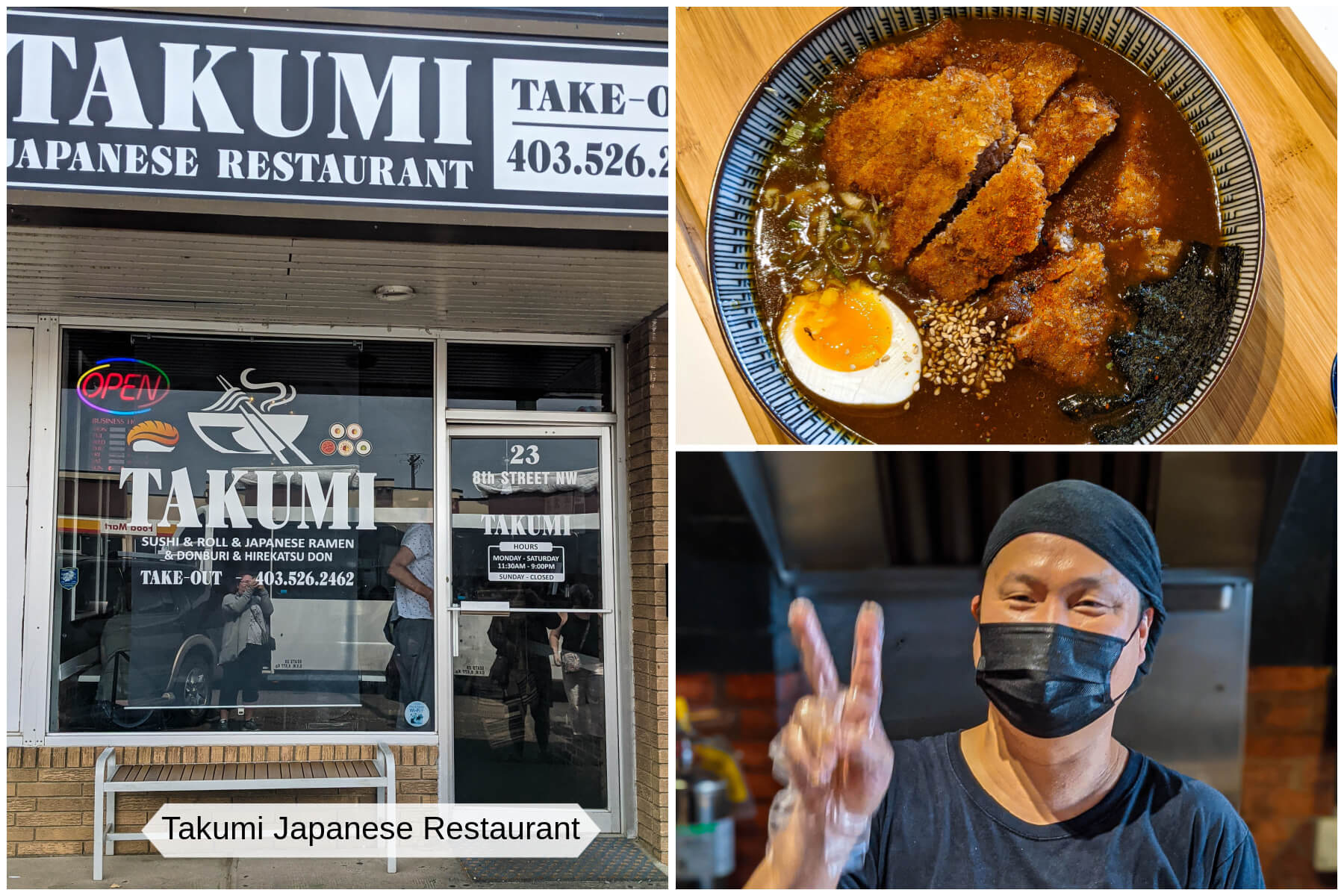 A collection of image from Takumi Japanese Restaurant in Medicine Hat, Alberta.